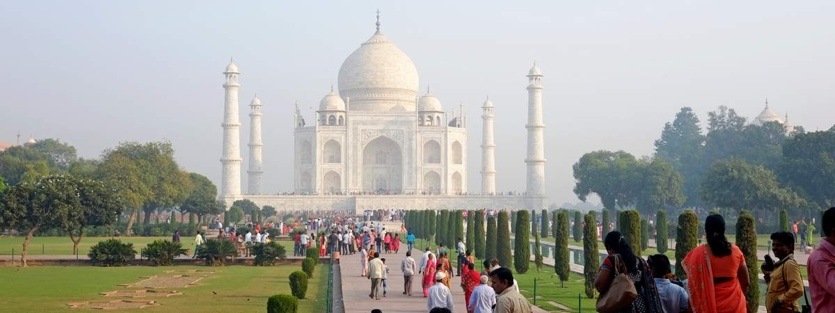 taj mahal Schwanger in Indien